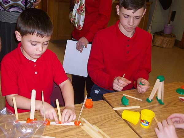 Seton-School-Students-Building