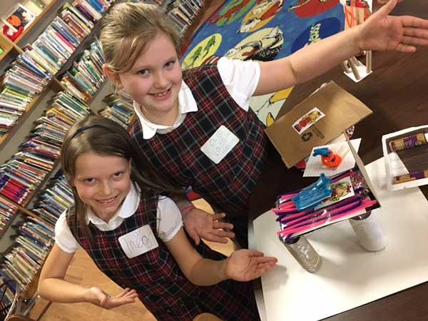 Seton-Students-showcasing-project