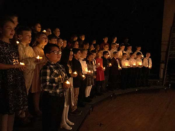 Seton-School-Students-Candles